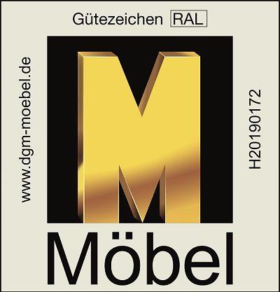 Zertifikat Golden M, DFM-Möbel von höchster Qualität