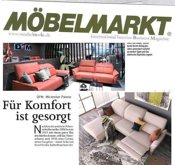 DFM in Mobelmarkt